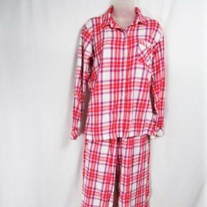 Victoria's Secret 2 Piece Plaid Pajama Set-M